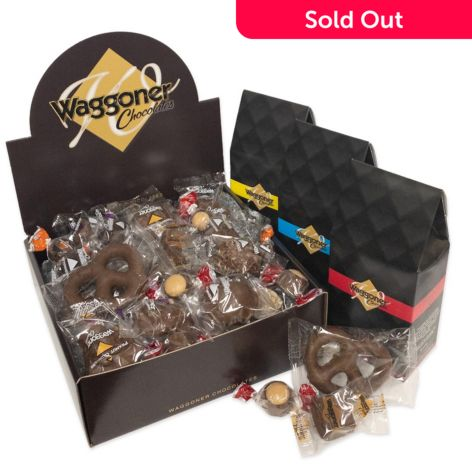 Waggoner Chocolates, Premium 3 lbs or 4 lbs, Individually, Wrapped  Chocolate, Assortment