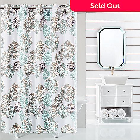 479 321 SureFit Alessandra 74 Hookless Shower Curtain