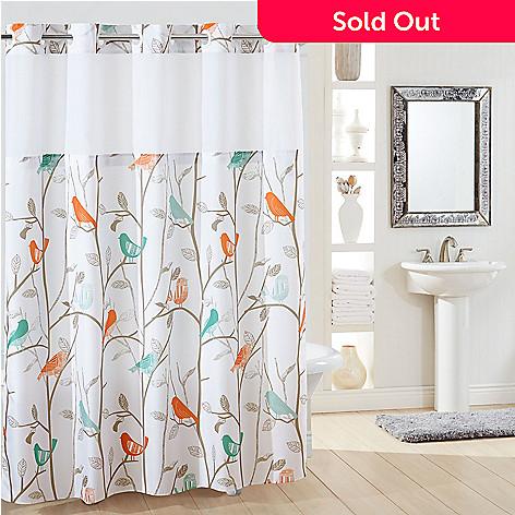 479 322 SureFit Scandiary 74 Hookless Shower Curtain