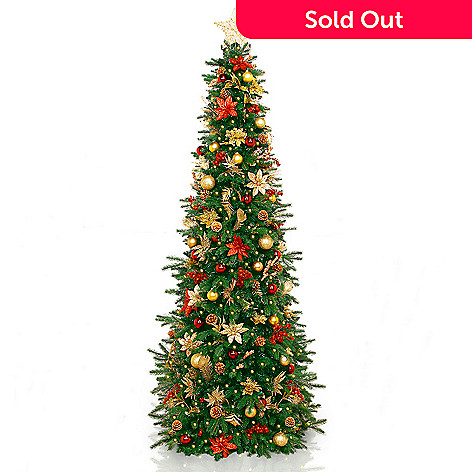 479-367- Easy Treezy Choice of Size & Decoration Pre-Lit Artificial  Christmas - Easy Treezy Choice Of Size & Decoration Pre-Lit Artificial Christmas