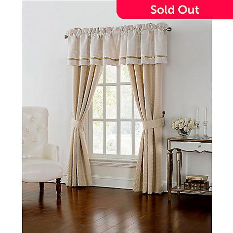 479 741 Waterford Britt Gold 55 Tailored Window Valance