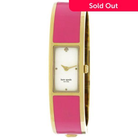 Kate Spade New York Women S Carousel Stainless Steel Bangle Bracelet Watch