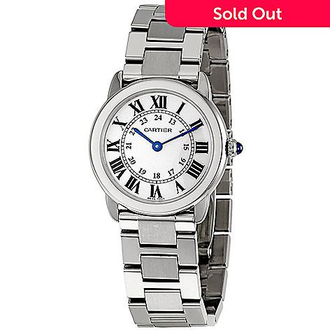 952d6a1a3db9 626-751- Cartier Women s Ronde Solo Small Quartz Stainless Steel Bracelet  Watch