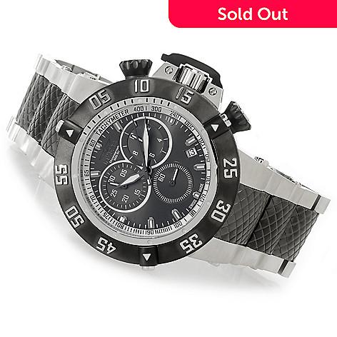b0ea25219 626-859- Invicta 50mm Subaqua Noma III Swiss Chronograph Stainless Steel  Bracelet Watch