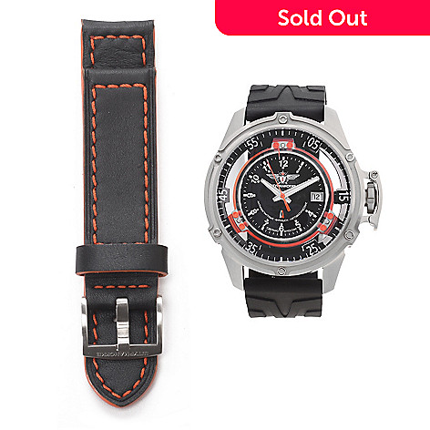 628-124- Sturmanskie 50mm Mars Cosmonaut Trainer Swiss Automatic Strap Watch 02ebfbe09f0