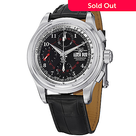 3e500951b64 628-304- Ball 41mm Trainmaster Pulsemeter Swiss Made Automatic COSC Leather  Strap Watch