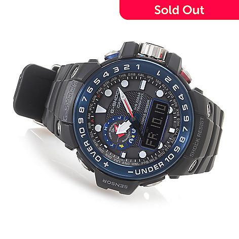 a781326dd 628-896- Casio Men's 55mm G-Shock Gulfmaster Digital Quartz Chronograph  Rubber Strap