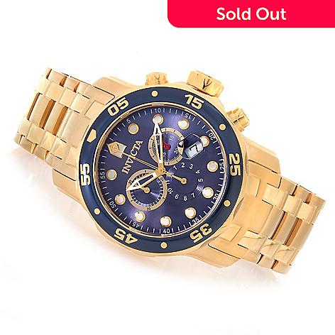 2a425b84763 629-158- Invicta 48mm Pro Diver Scuba Quartz Chronograph Stainless Steel  Bracelet Watch w