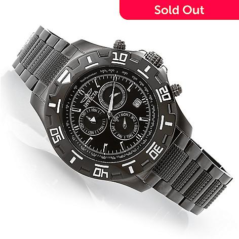 bcfaef950 630-034- Invicta 46mm Specialty Python Quartz Chronograph Stainless Steel  Bracelet Watch w/