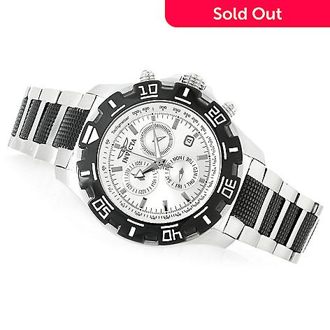 0dab4cf3e 631-334- Invicta 46mm Python Quartz Chronograph Stainless Steel Bracelet  Watch