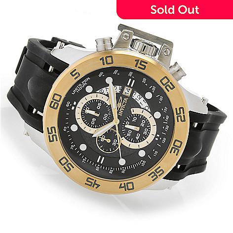 3a1a25b43 631-630- Invicta 52mm I Force Quartz Chronograph Stainless Steel  Polyurethane Strap Watch