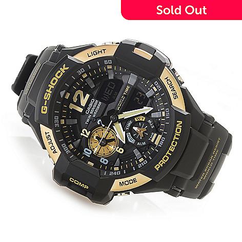 2d109da37cc4 632-051- Casio Men's 49mm G-Shock Gravitymaster Digital Quartz Chronograph  GMT Resin