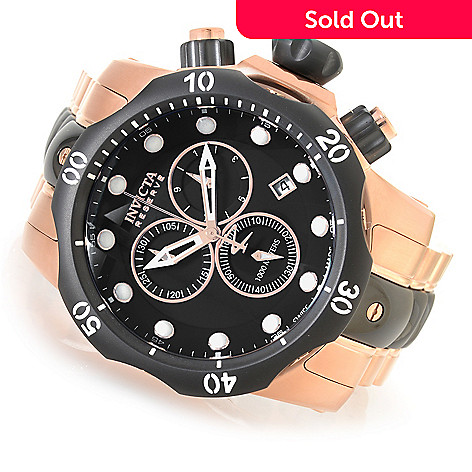71ecfbcca2d 632-349- Invicta Reserve 50mm Venom Swiss Made Quartz Stainless Steel  Bracelet Watch