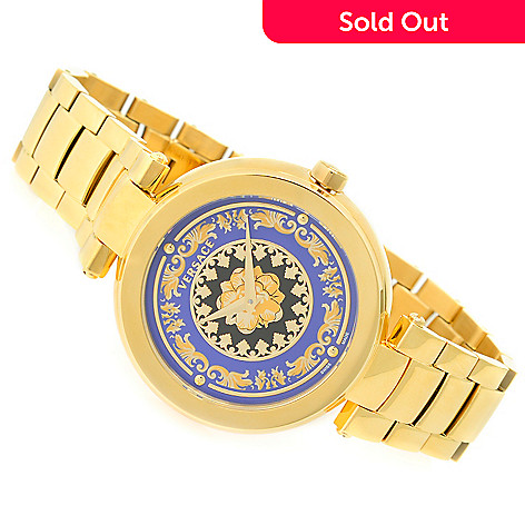 3b064331f45 632-842- Versace Women s Mystique Foulard Swiss Made Quartz Stainless Steel  Bracelet Watch