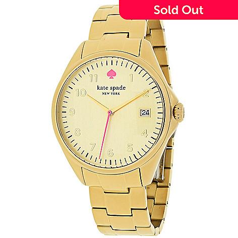 Kate Spade Women S Seaport Grand Quartz Stainless Steel Bracelet Watch