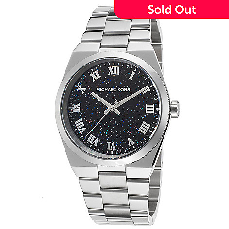 a245451895b6 636-281- Michael Kors Women s Channing Quartz Stainless Steel Bracelet Watch