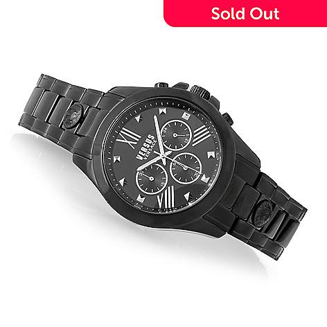 636-576- Versus Versace Men s 44mm Chrono Lion Quartz Chronograph Stainless  Steel Bracelet Watch e2508b31e5e0e