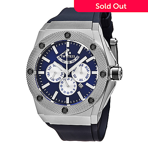 75e03fb5786 636-653- TW Steel Men s 48mm Ceo Tech Automatic Limited Edition Rubber  Strap Watch