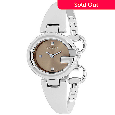 d7ab7f35799 636-771- Gucci Women s Guccissima Quartz Stainless Steel Bracelet Watch