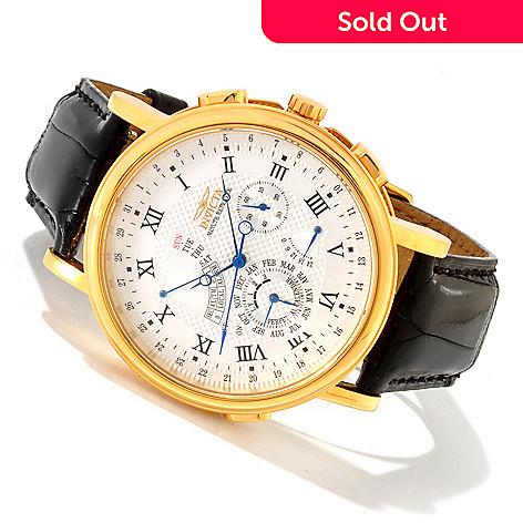 Perpetual Calendar Watch >> As Is Iinvicta 44mm Minute Repeater Perpetual Calendar Quartz