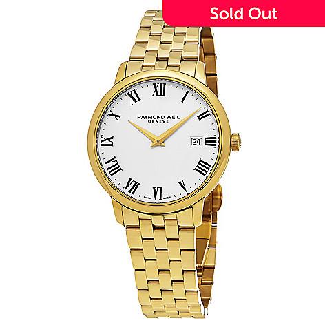 c2c82f34c 638-932- Raymond Weil Men's 39mm Toccata Swiss Made Quartz Stainless Steel  Bracelet Watch