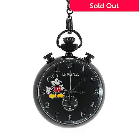 683a578ff29 639-596- Invicta Disney® 50mm Limited Edition Quartz Chronograph Pocket  Watch w