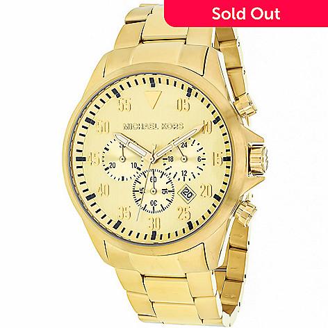 792c6737b959 640-570- Michael Kors 44mm Gage Quartz Chronograph Stainless Steel Bracelet  Watch