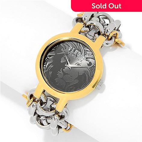 641 708 Versus Versace Women S Agadir Quartz Stainless Steel Charm Bracelet Watch