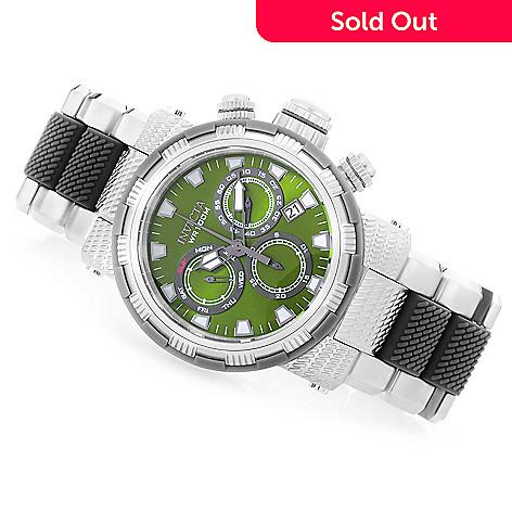 6f5bcd8ca4dc Invicta 48mm Capsule Quartz Chronograph Stainless Steel & Polyurethane  Bracelet Watch