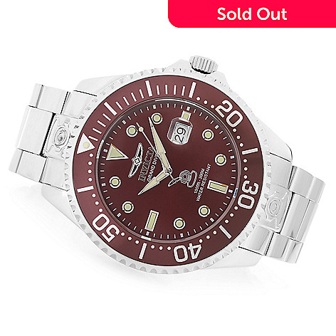 2552035f67b1 642-547- Invicta Men s 54mm Grand Diver Automatic High Polished Stainless  Steel Bracelet Watch