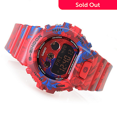 643-438- Casio Women s G-Shock S Series Digital Quartz Floral Strap Watch a19c61349a