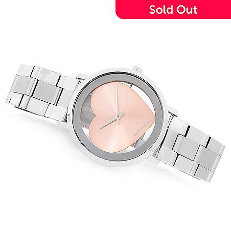 a92f8edefad1 644-209- Michael Kors Women s Jaryn Quartz Sunray Stainless Steel Bracelet  Watch