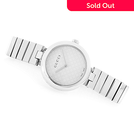 c8ce55c7693 644-259- Gucci 27mm or 32mm Diamantissima Swiss Made Quartz Stainless Steel  Bracelet Watch