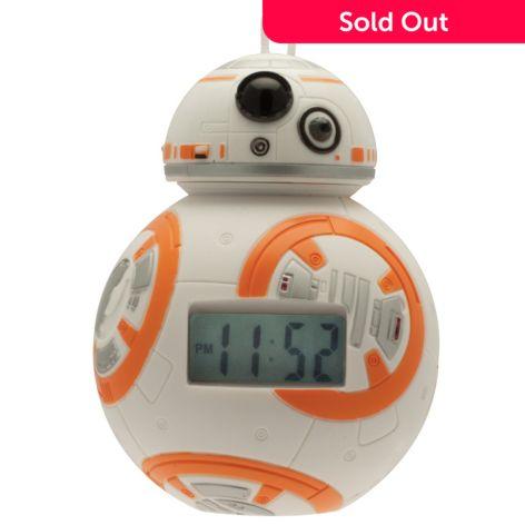 Bulbbotz Star Wars Mini Droid Lcd Alarm