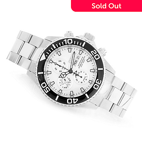a90ecea78 644-829- Invicta Reserve Men's 47mm Snoopy Grand Diver Swiss Automatic  Chronograph Bracelet Watch