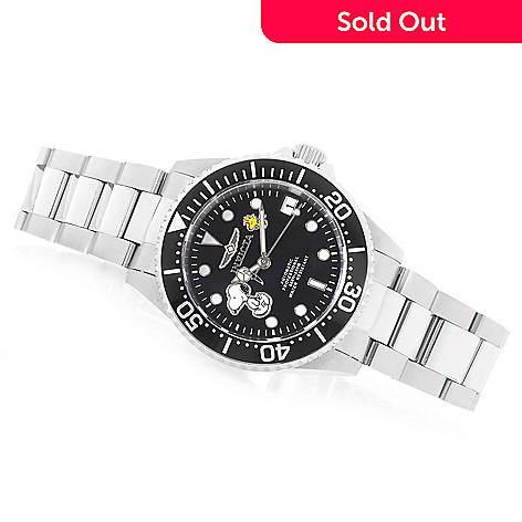 644-832- Invicta Women s Snoopy Pro Diver Limited Edition Automatic  Stainless Steel Bracelet Watch fe7502ef03