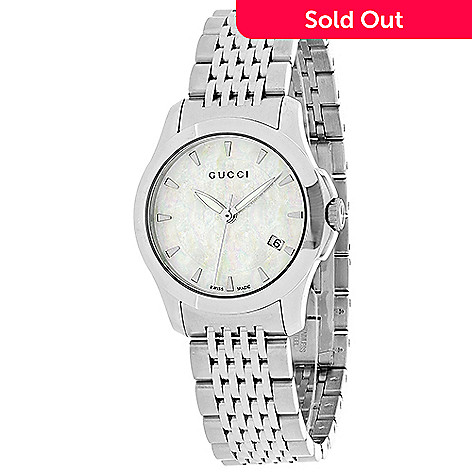 a1821e66aec 644-938- Gucci Women s Timeless Swiss Made Quartz Mother-of-Pearl Dial