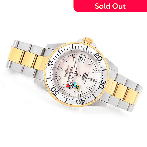 646-757- Invicta Disney® Women s Pro Diver Limited Edition Automatic  Bracelet Watch w b7244bb8df