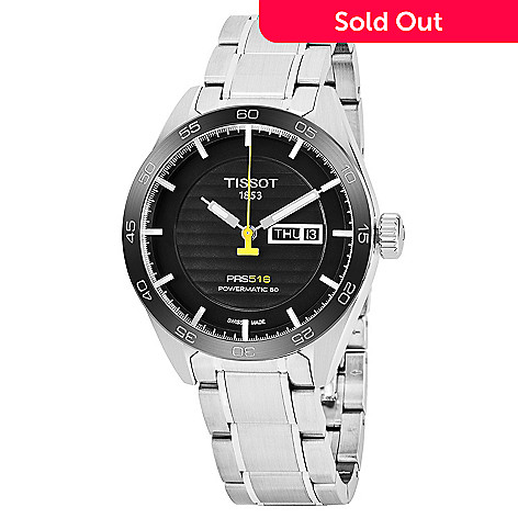 c4b5d150dd4 647-116- Tissot Men's 42mm PRS 516 Swiss Made Automatic Day/Date Stainless
