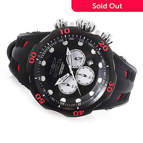 9106bb408 647-756- Invicta Men's 50mm Venom Viper Quartz Chronograph Silicone Strap  Watch w/