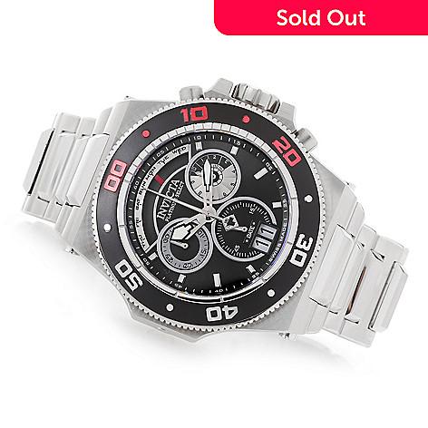 f7c2c4ae4 648-595- Invicta Men's 52mm Platinum Select Akula Swiss Made Quartz  Chronograph Bracelet Watch