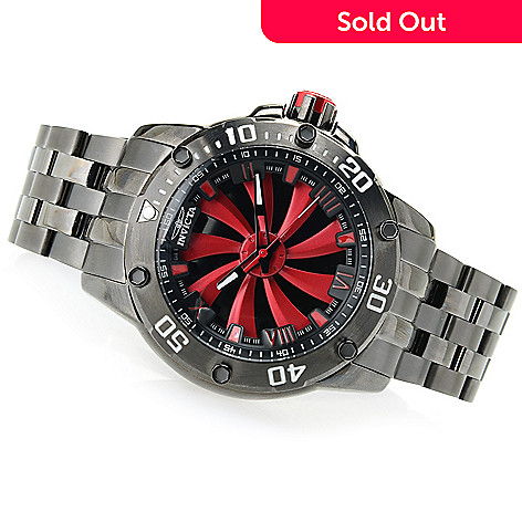 650 455 Invicta Men S 52mm Turbine Automatic Stainless Steel Bracelet Watch