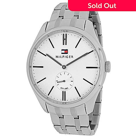 651-260- Tommy Hilfiger Men s 44mm Curis Quartz Stainless Steel Bracelet  Watch dfef7241b
