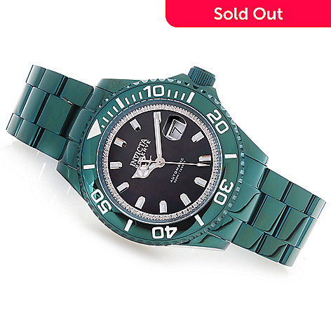 d1cc74907 652-864- Invicta Reserve Men's 47mm Pro Diver Elite 0.40ctw Diamond Limited  Edition