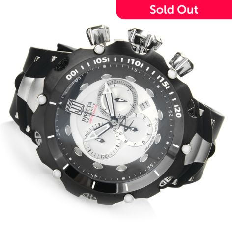 Invicta Men's 50mm JT Venom Gen II Ltd Edition Quartz Chronograph Strap  Watch w/ 3-Slot Dive Case