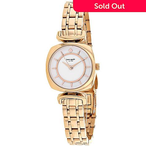 653 301 Kate Spade Women S Barrow Quartz Rose Tone Stainless Steel Bracelet Watch