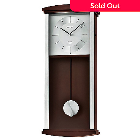 Seiko Westminster Chime Musical Alder Contemporary Wall Clock W