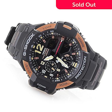 e523412187e 654-287- Casio 49mm G-Shock Gravitymaster Digital Quartz Chronograph GMT  Strap Watch