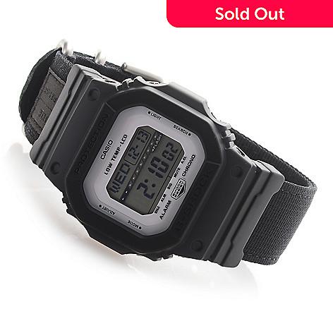 bf8950f8e8a5 Casio Men s Rectangular G-Shock G-Lide Quartz Digital NATO Strap ...
