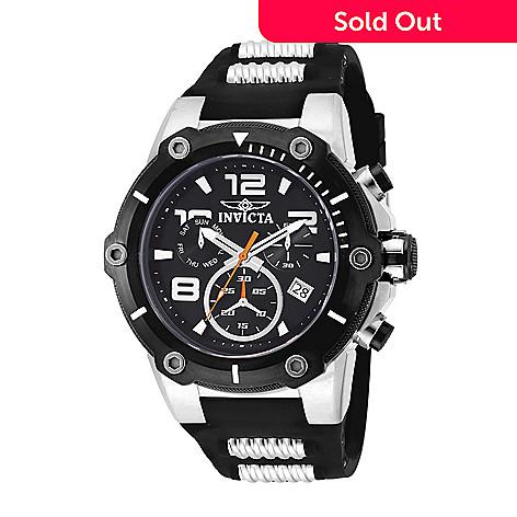 a47e255e2 655-093- Invicta Men's 51.5mm Speedway Quartz Chronograph Silicone Strap  Watch